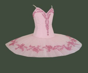 Ballet arabesque tutu