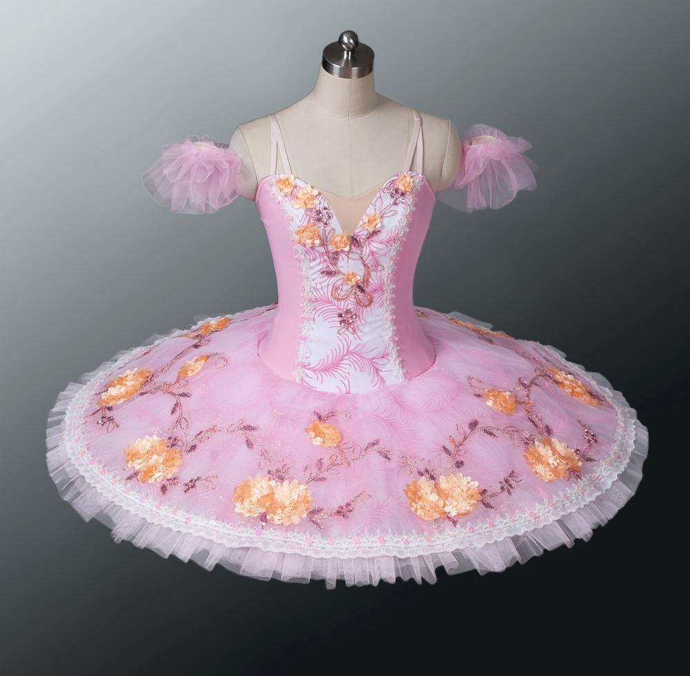 9a5176ed9 Dance & Gymnastics Arabesque Life Professional Ballet Pancake Tutu Dress in  Light Pink and White Sale Dance